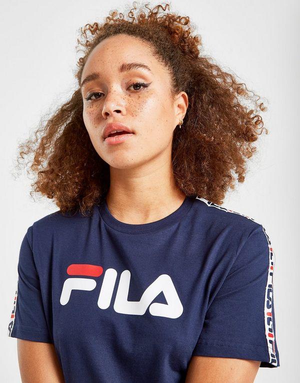 99da61ba Fila Tape Boyfriend T-Shirt Dame | JD Sports