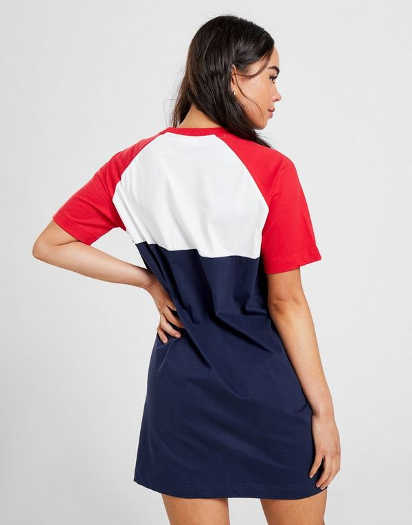 Fila Colour Block T-Shirt Dress