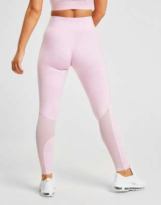 Pink Soda Sport Mesh Tights