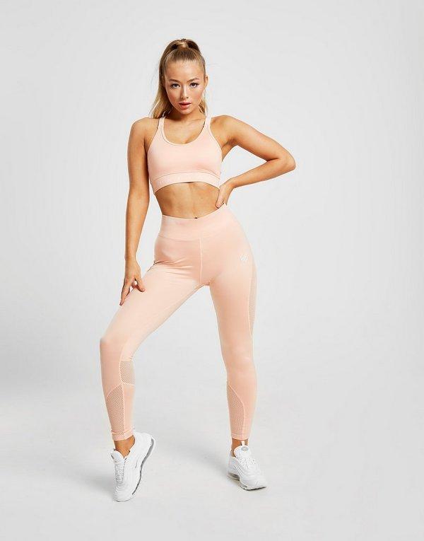 Pink Soda Sport Mesh Sports Bra