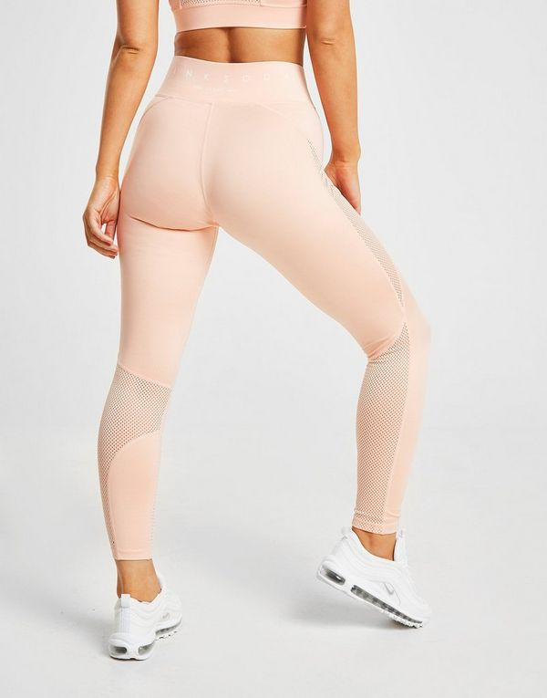 Pink Soda Sport Mesh Tights