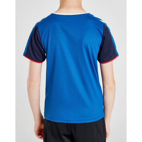Hummel Rangers FC Authentic Shirt Junior