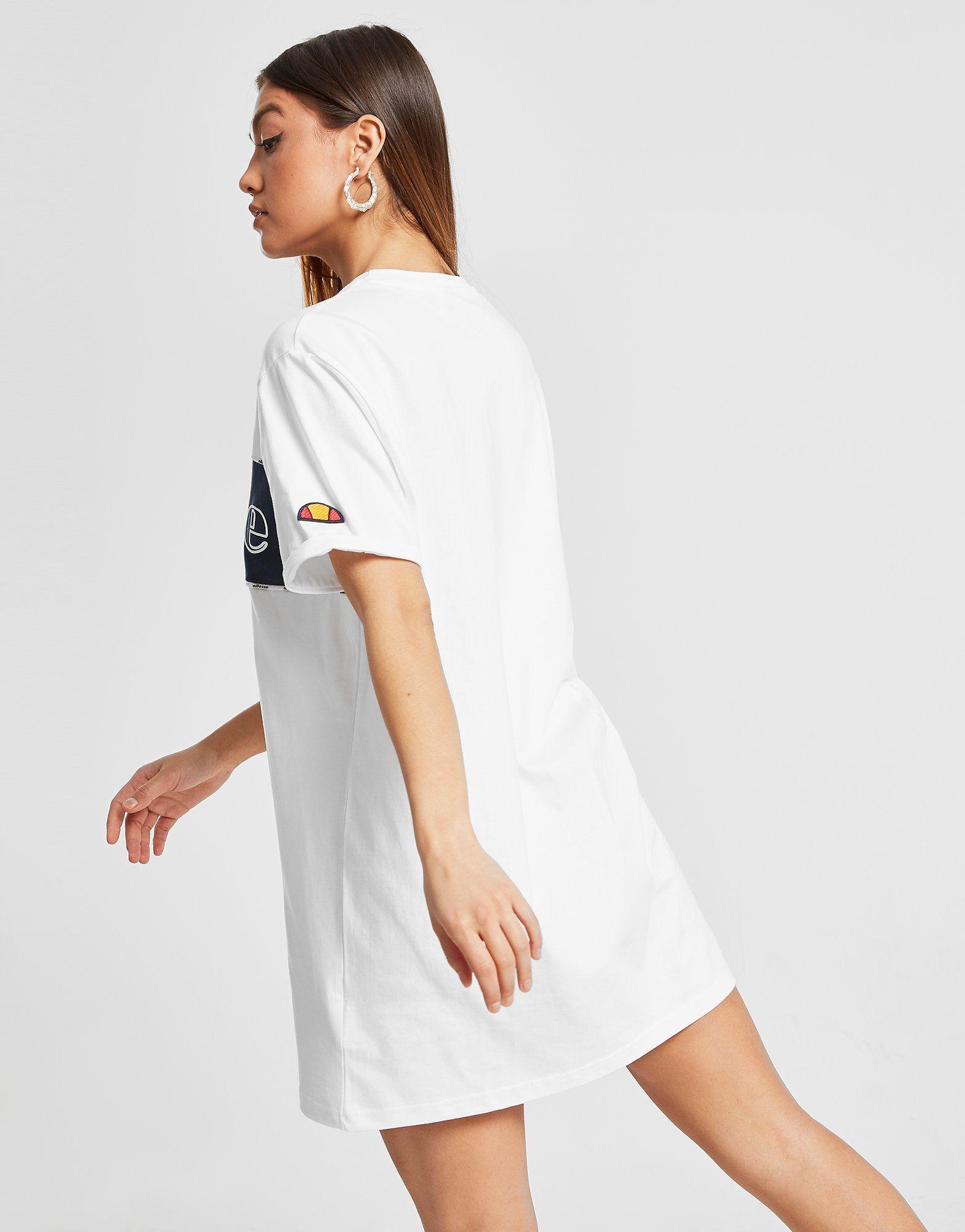 Ellesse Piping Panel T-Shirt Dress