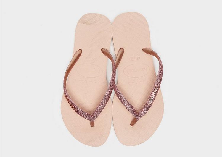 Havaianas Slim Glitter Flip Flops para mujer