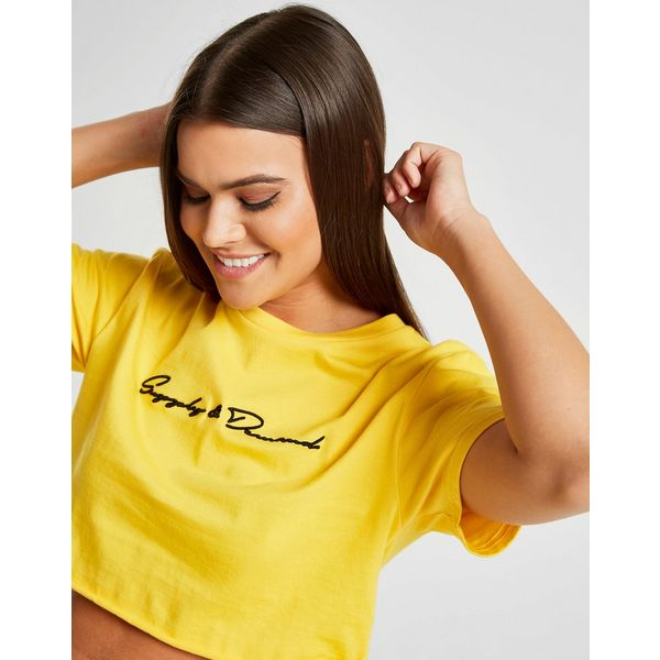 Supply & Demand Ray Super Crop T-Shirt