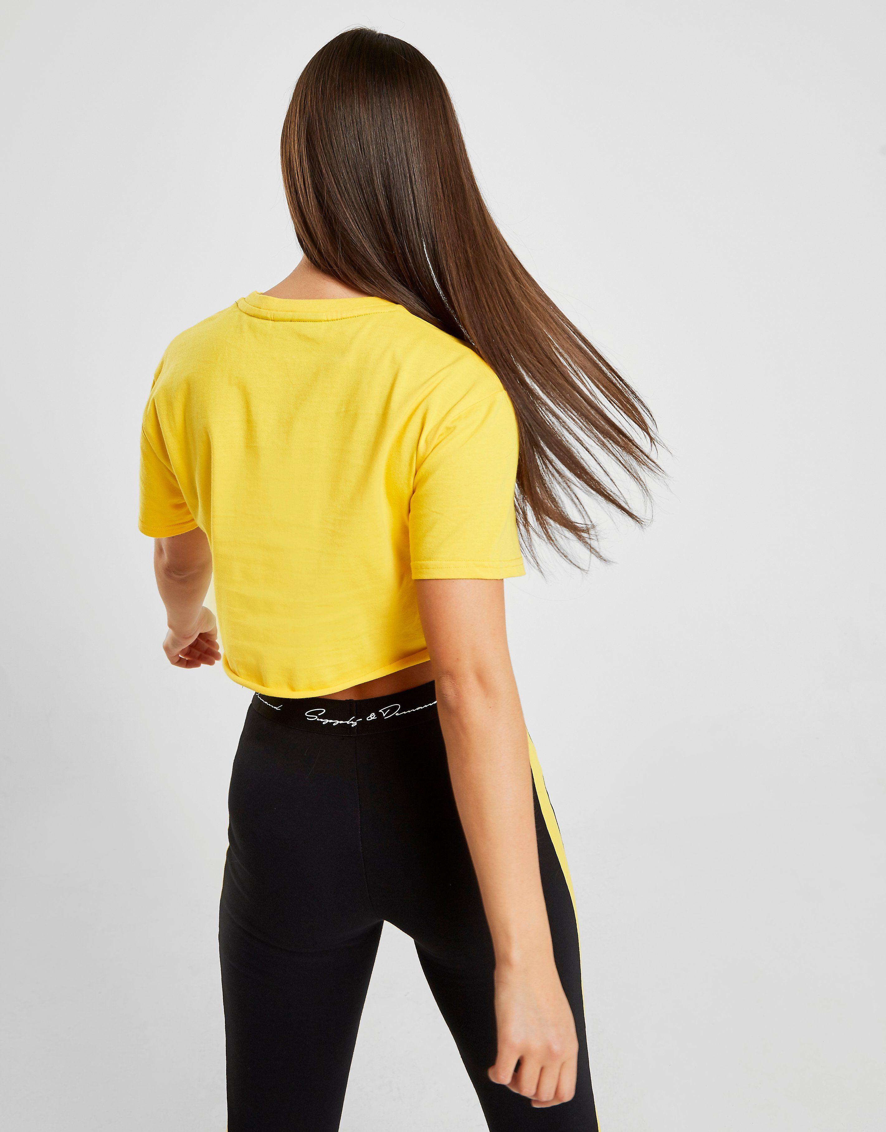 Supply & Demand Ray Super Crop T-Shirt