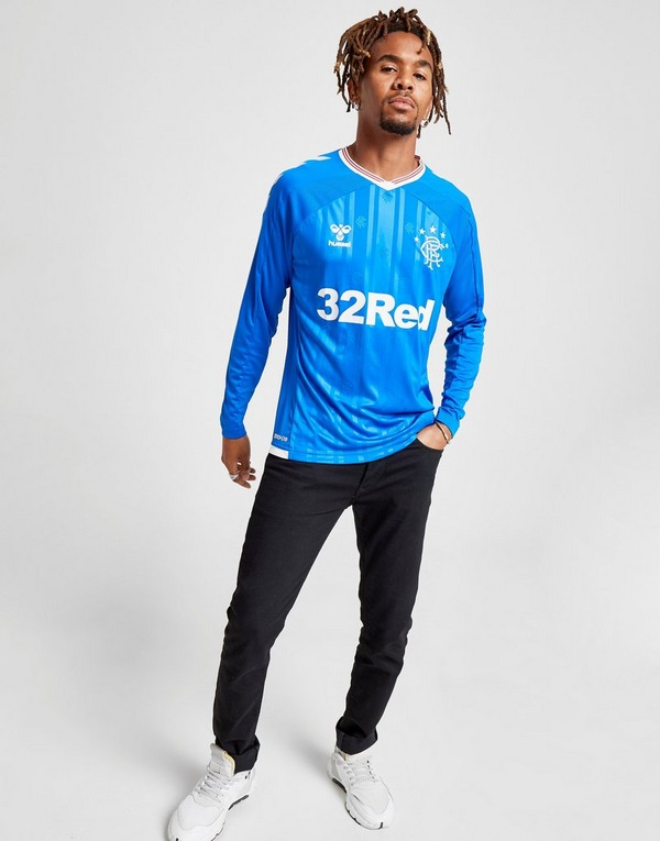 Hummel Rangers FC 2019/20 Long Sleeve Home Shirt