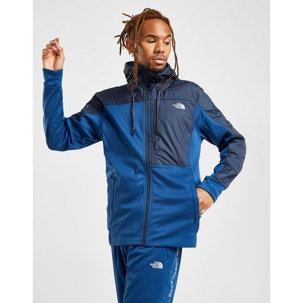 The North Face Train N Logo Full Zip Woven Hoodie