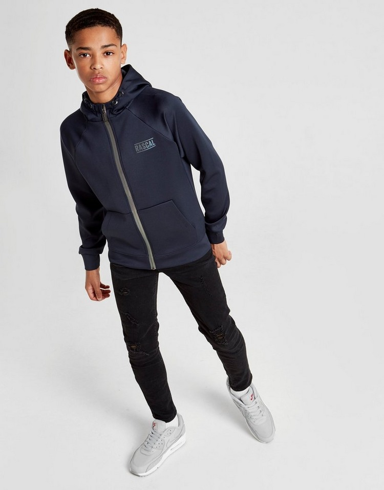 Rascal Poly Reflective Full Zip Hoodie Junior