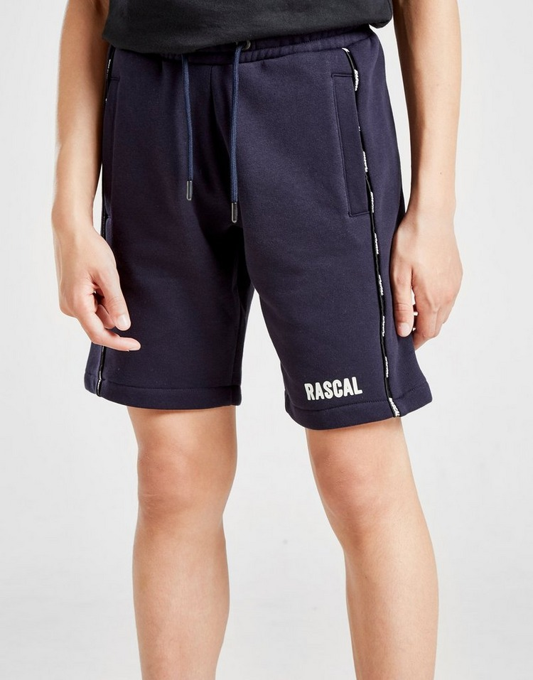 Rascal Logo Fleece Tape Shorts Kinder