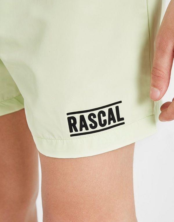 Rascal Tape Logo Swim Shorts Junior