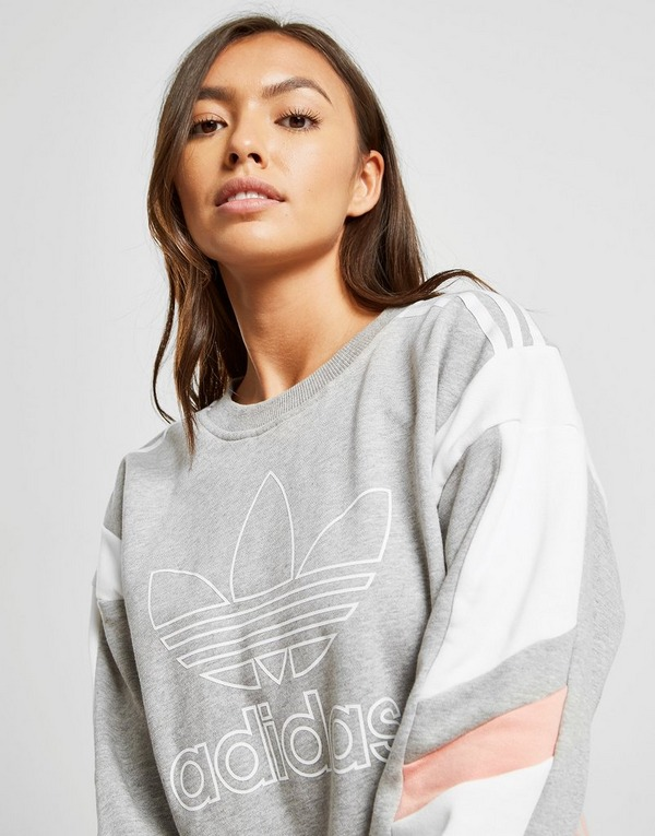 authentic quality on wholesale low price sale adidas Originals Colour Block Crew Sweatshirt   JD Sports