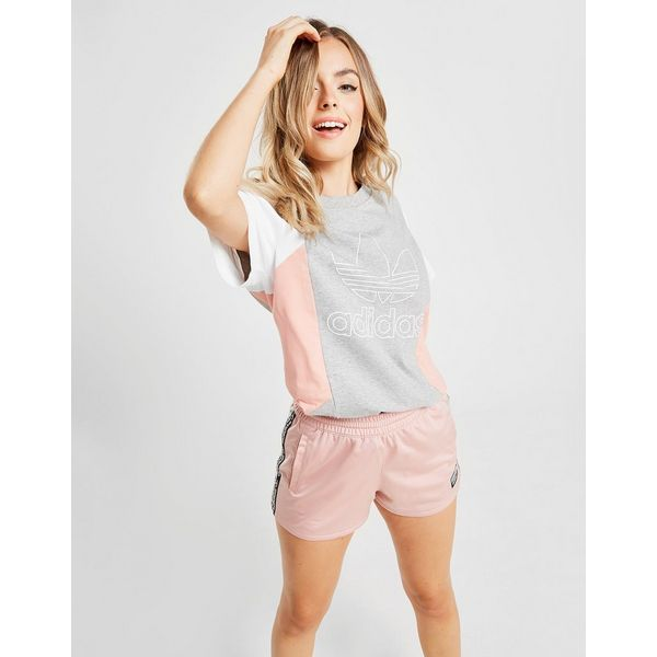 adidas Originals Colour Block Outline T-Shirt