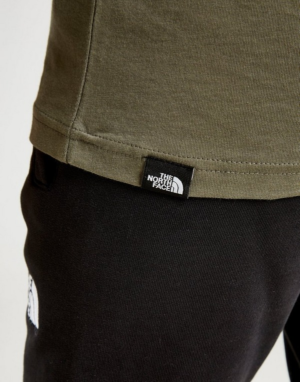 The North Face Long Sleeve Box T-Shirt Junior