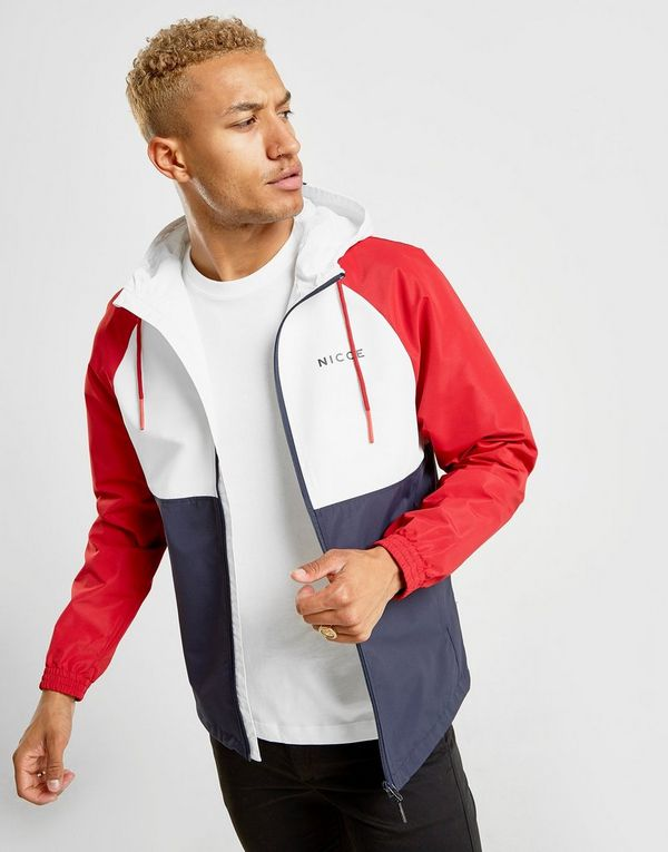 Nicce Ashton Full Zip Lightweight Jacket