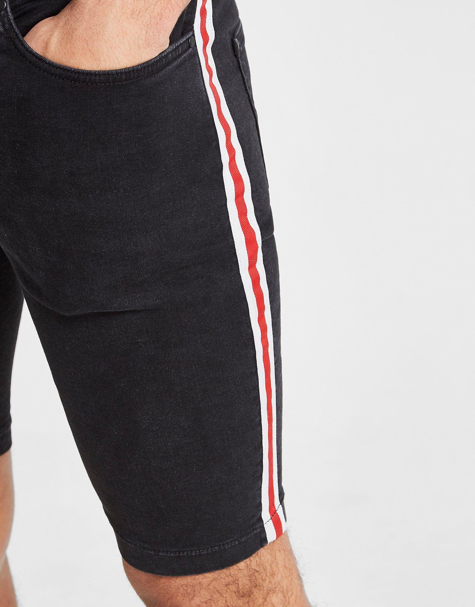 Supply & Demand Racer Denim Shorts