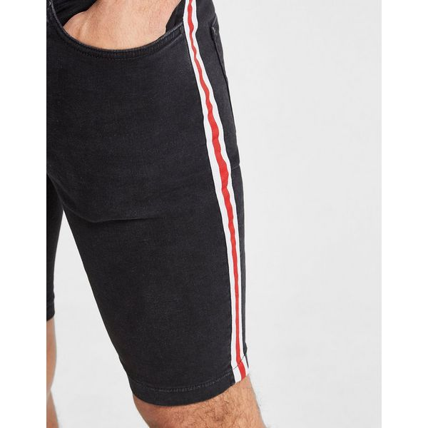 Supply & Demand Racer Denim Shorts