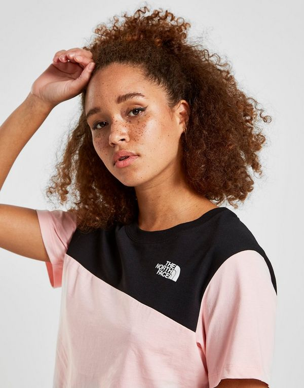 The North Face Crop Panel Logo T-Shirt