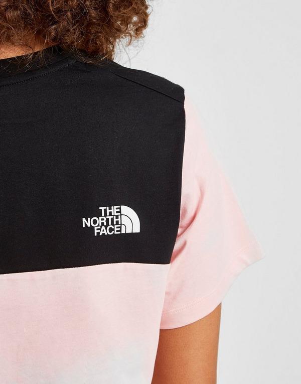 The North Face Crop Panel Logo T-Shirt Damen