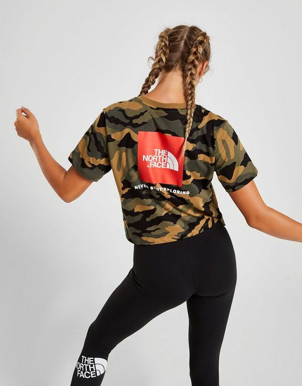 The North Face Crop Box Logo T-Shirt
