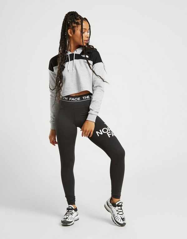 The North Face Colour Block Crop Hoodie