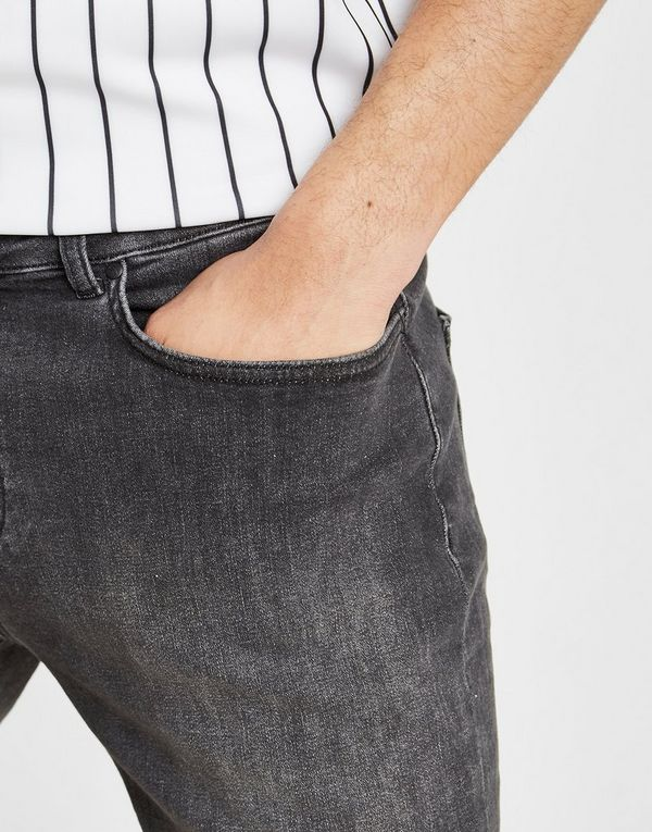 Supply & Demand Puncture Denim Shorts