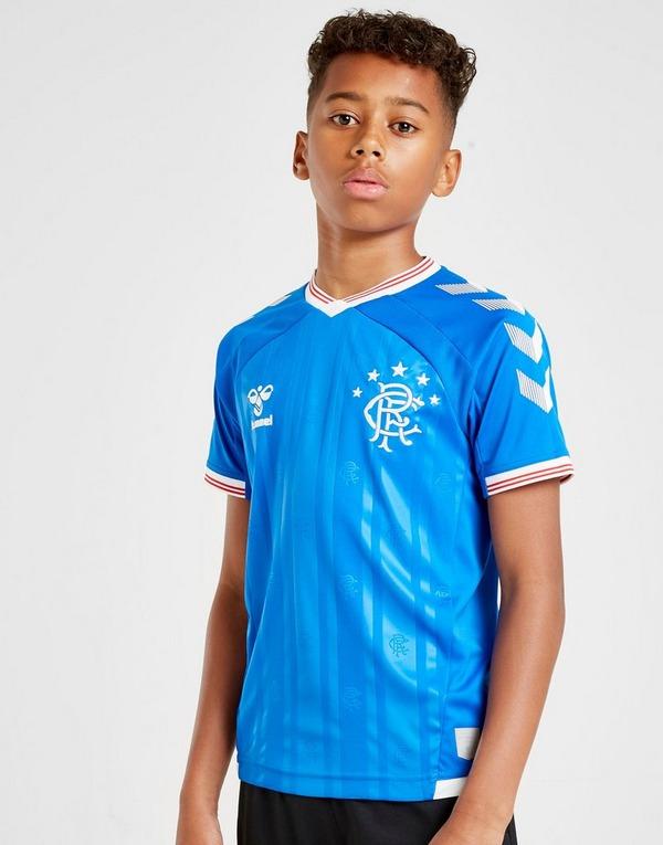 Hummel Rangers FC 2019/20 Home Shirt Junior