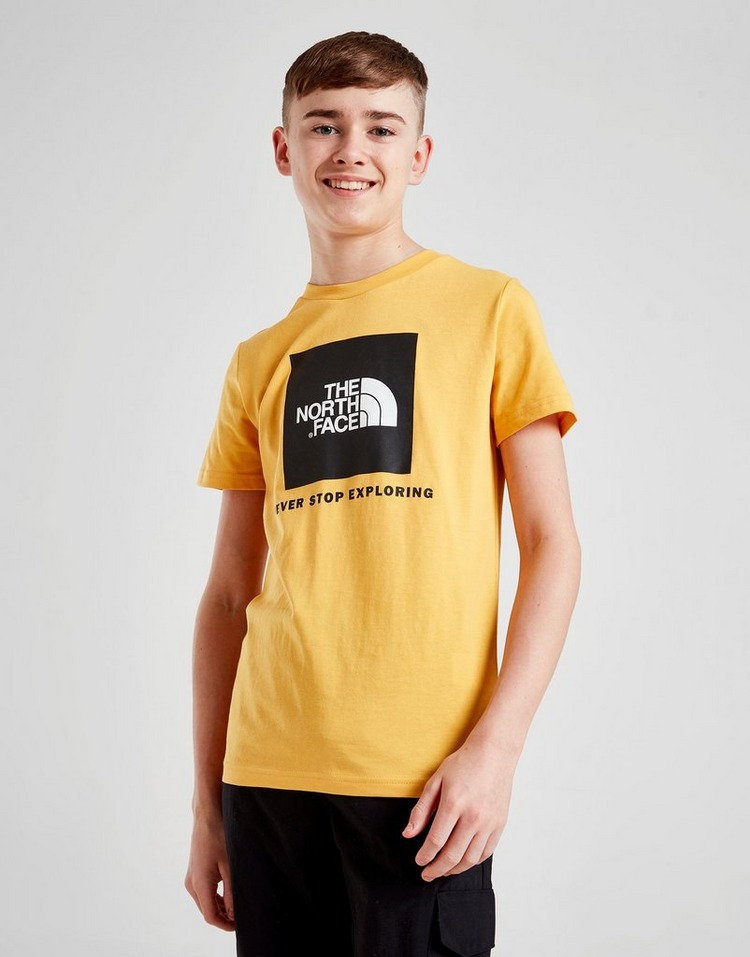 The North Face Box Short Sleeve T-Shirt Junior