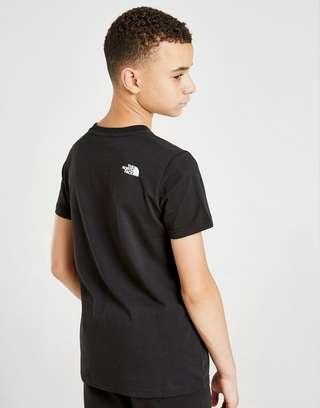 The North Face Box Short Sleeve T-Shirt Junior