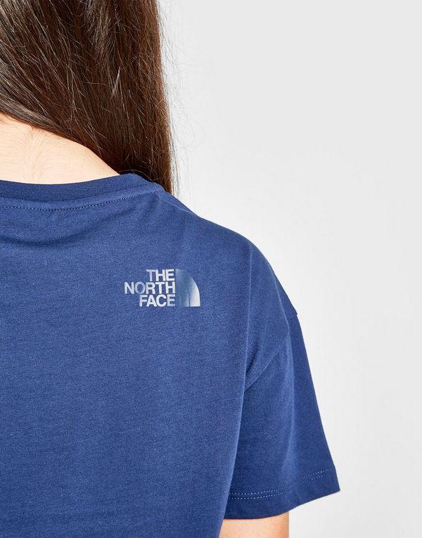 The North Face Girls' Logo Crop T-Shirt Junior