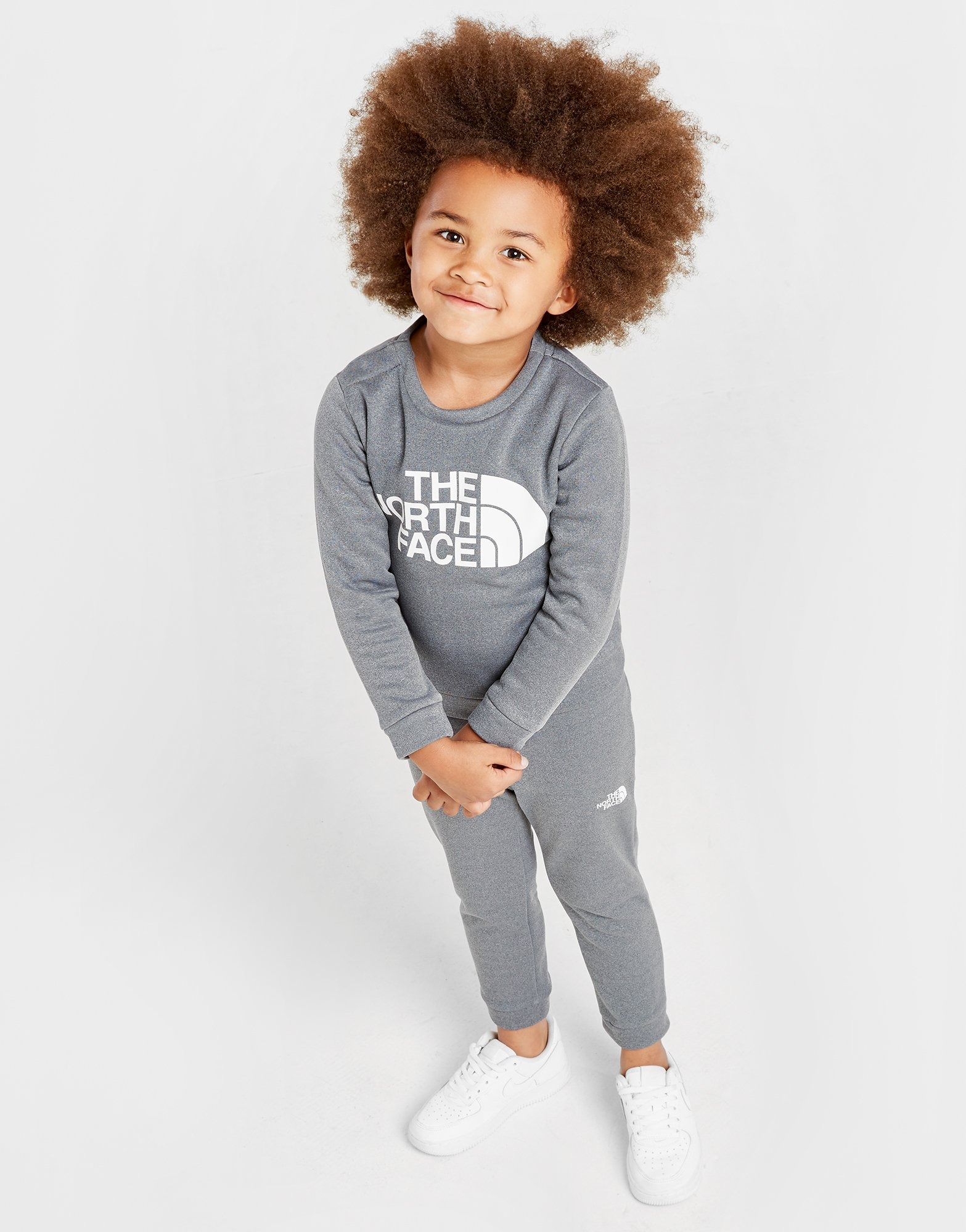 The North Face Surgent Logo Crew Tracksuit Children by The North Face