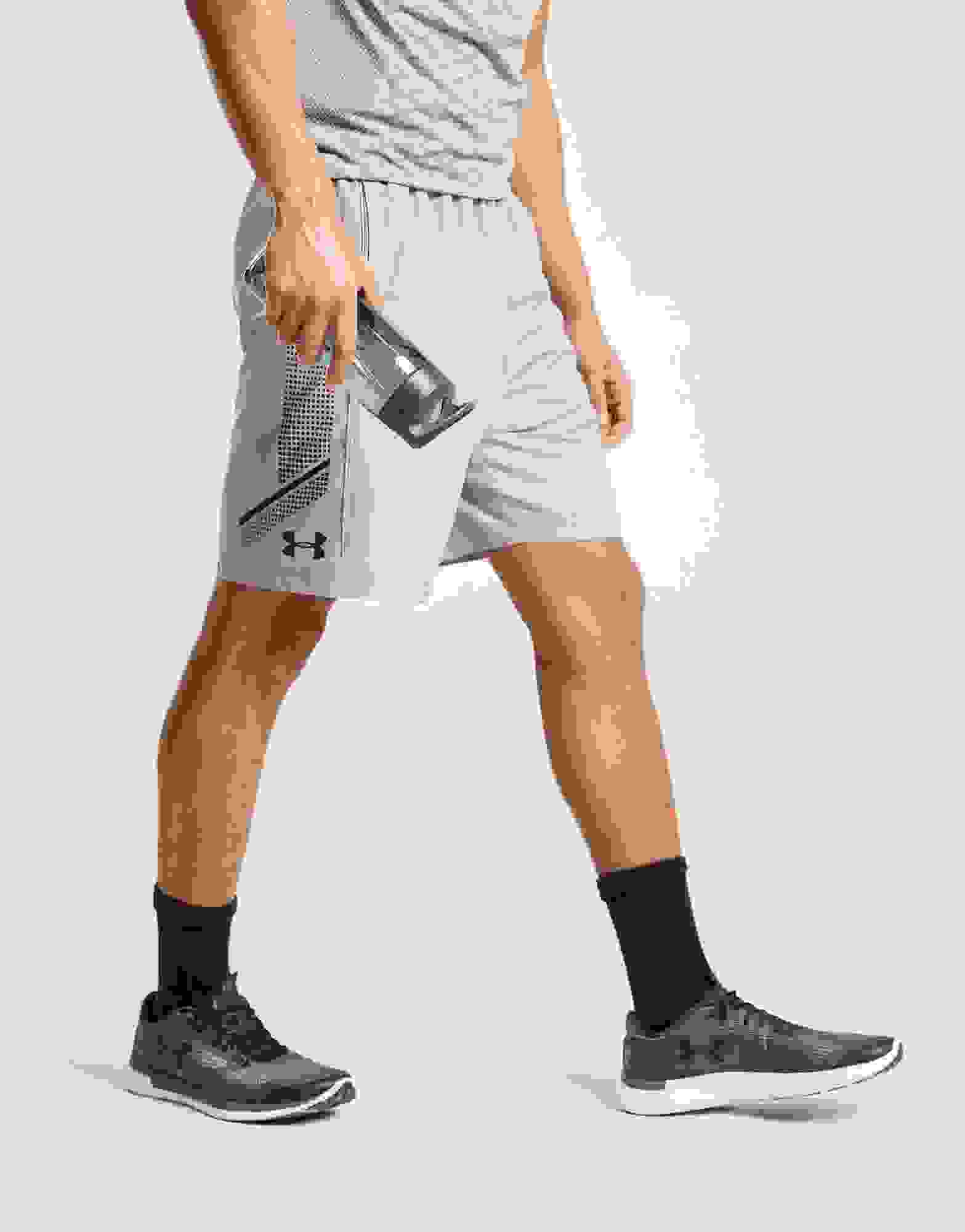 Under Armour Mens Woven Graphic Shorts Short