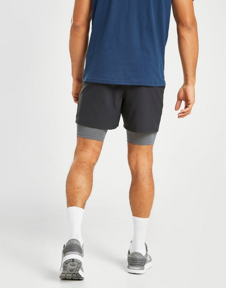 Under Armour pantalón corto Qualifier 2-In-1