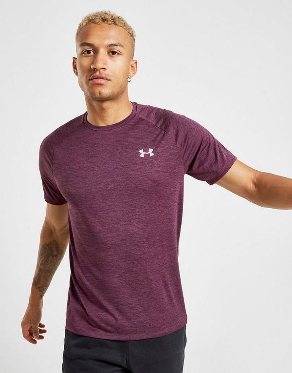 Køb Under Armour Tech 2.0 T Shirt Herre i Lilla | JD Sports