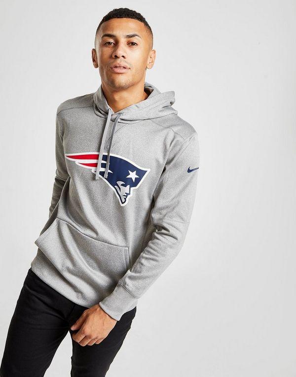 watch 6bf17 93378 Nike NFL New England Patriots Logo Hoodie | JD Sports