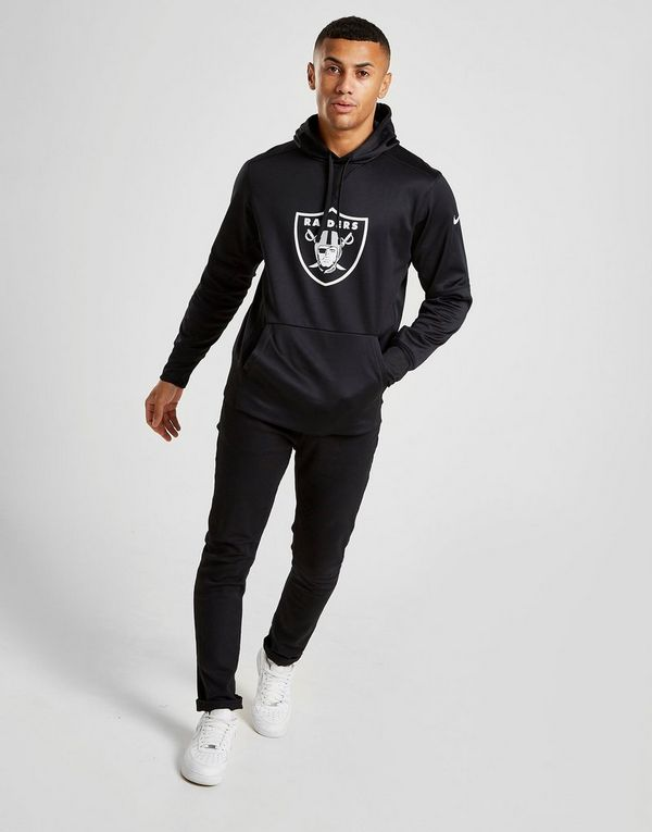 huge discount 9592f 9280c Nike Circuit Logo Essential (NFL Raiders) Men's Pullover ...