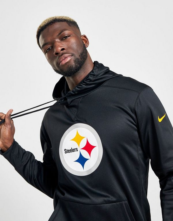 super popular 9d8e6 d6462 Nike Circuit Logo Essential (NFL Steelers) Men's Pullover ...