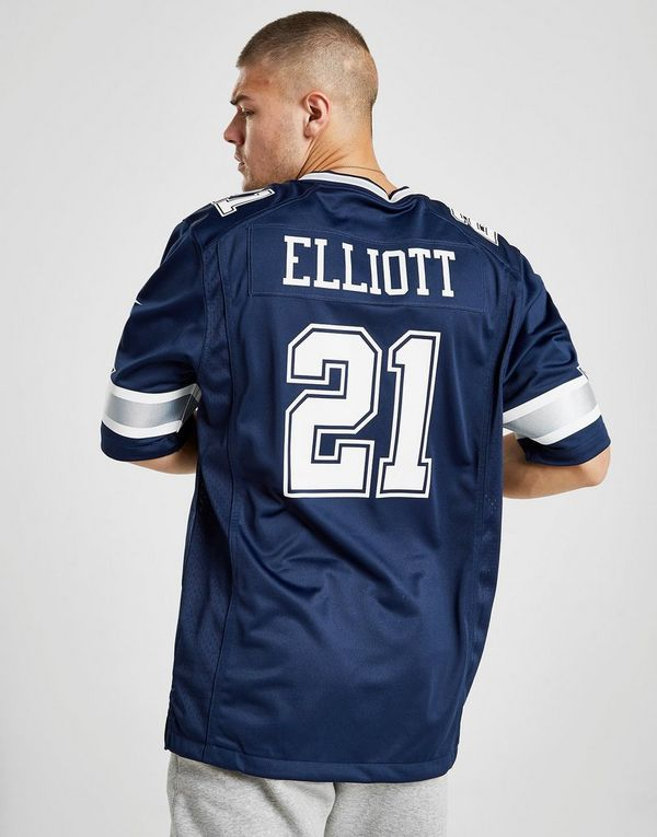 new style 39893 7c123 Nike NFL Dallas Cowboys Game (Ezekiel Elliott) Men's ...