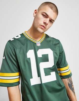 classic fit faf87 e19b0 Nike NFL Green Bay Packers (Aaron Rodgers) Men's American ...
