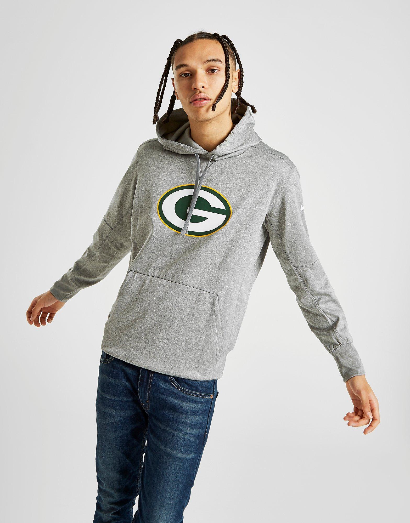 Acquista Nike NFL Green Bay Packers Felpa Con Cappuccio in