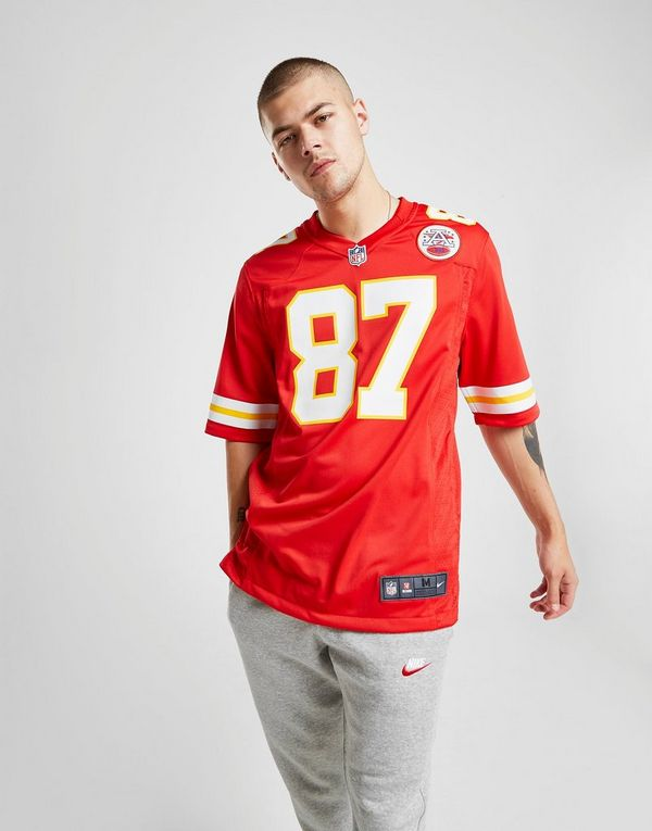 best loved d5aaf 00659 Nike NFL Kansas City Chiefs (Travis Kelce) Men's American ...