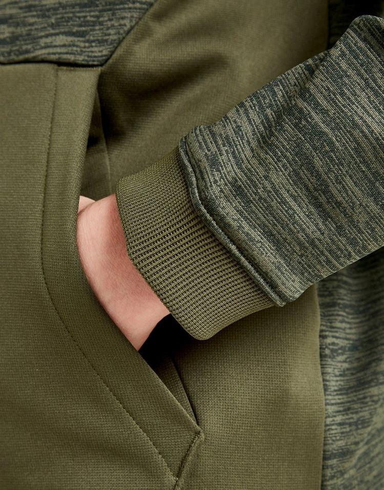 Under Armour sudadera con capucha Poly Fleece 1/2 Zip júnior