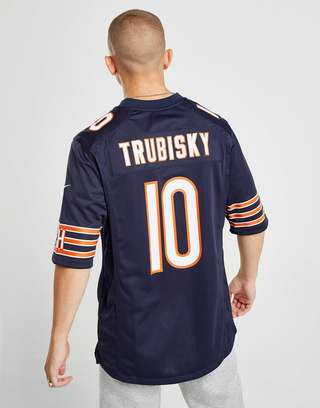 size 40 1c2ec 16391 Nike NFL Chicago Bears (Mitch Trubisky) Men's American ...