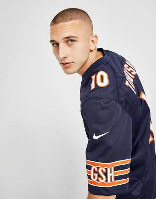 size 40 24ebb 347e4 Nike NFL Chicago Bears (Mitch Trubisky) Men's American ...