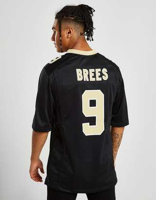 competitive price 628ce b2d09 Nike NFL New Orleans Saints Game (Drew Brees) Men's American ...