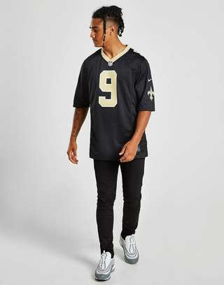 competitive price 9eaa3 80d49 Nike NFL New Orleans Saints Game (Drew Brees) Men's American ...