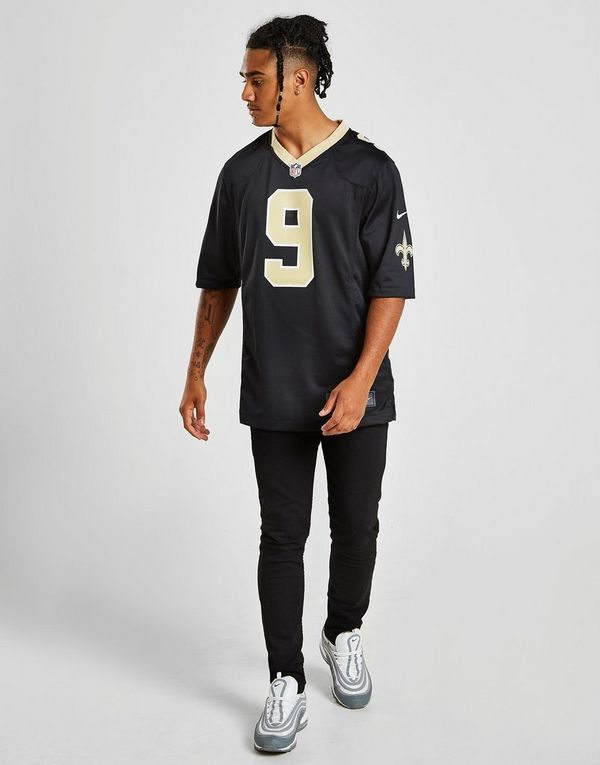 competitive price 6b87f 9e4db Nike NFL New Orleans Saints Game (Drew Brees) Men's American ...