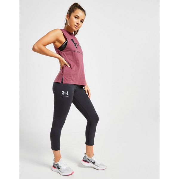 Under Armour Logo Muscle Tank Top