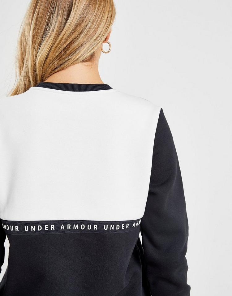 Under Armour Tape Crew Sweatshirt Dames