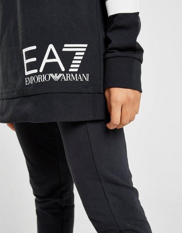 Emporio Armani EA7 Long Line Hooded Trainingspak Dames